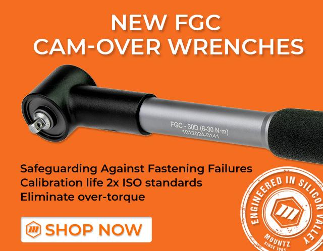 FGC cam-over wrench prevents over-torque